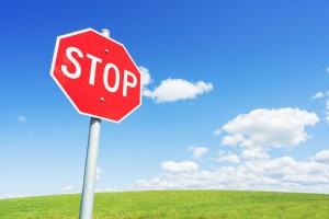 הכלי הראשון: תפסיק!